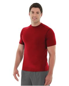 Logan  HeatTec® Tee-XS-Red