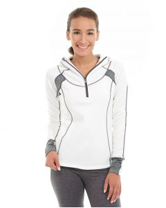 Cassia Funnel Sweatshirt-XS-White