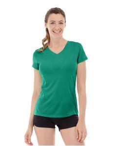 Gabrielle Micro Sleeve Top-XS-Green