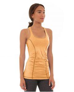 Leah Yoga Top-L-Orange